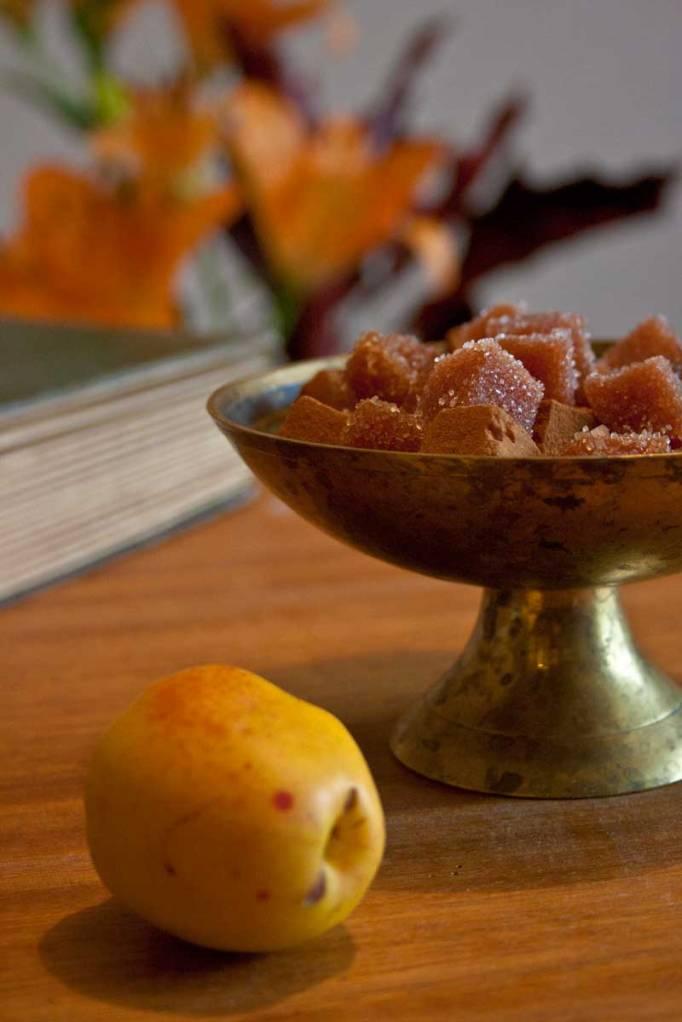 Marmeladkonfekt-på-rosenkvitten