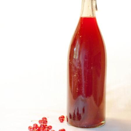 Rödvinbärssaft