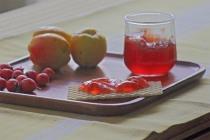 Hagtornsgelé med rosenkvitten och honung